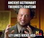 Ancient aliens love ley lines
