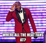 Regular season heat games