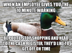 As someone is customer service, just please follow this.