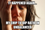 Chipdip ratio