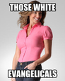 White evangelicals