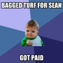Bagged turf for sean