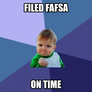 Filed Fafsa