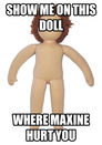 Show me on this doll
