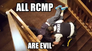 RCMP behavioral issues