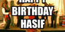 Happy Birthday Hasif